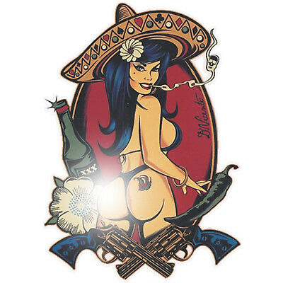 Pin Up Aufkleber Sticker Chopper Bobber US Cars Hot Rod V8 Rockabilly Oldschool