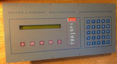 Notifier INA Intelligent Network Annunciator