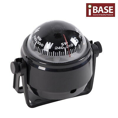 Compass Illuminated 12V Led Caravan Marine Boat Car Trucks  Navigation Black S