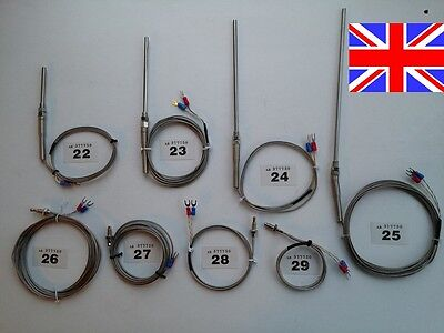 K Type Thermocouple Probes Sensors Uk Seller Vat Invoice