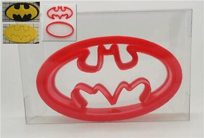 Batman Cookie Cutter + Oval, Biscuit, Pastry, Fondant Cutter (2pcs)