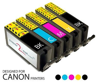 Multipack of 5 x PGI-225/CLI-226 Refillable Edible Ink Cartridges Canon iP4820
