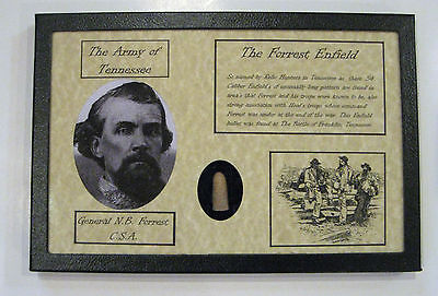 The Forrest Enfield in Matted Display Case with Certificate of Authenticity