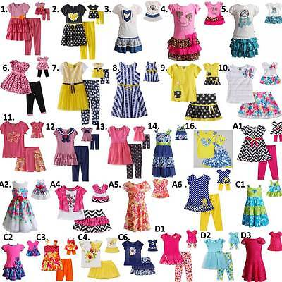 """Dollie and  Me  2T-14 & 18"""" doll matching outfit Dress clothes american girl"""