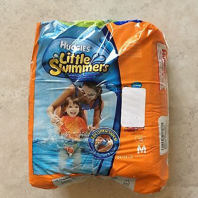 Huggies Little Swimmers Disposable Swimpants (Character May Vary)  Medium 18 Cou