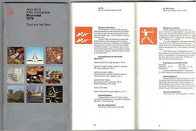 Orig.Complete PRG / Guide    XXI.Olympic Games MONTREAL 1976  !!   VERY RARE