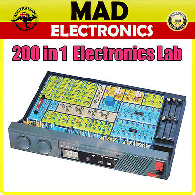 200 In 1 Electronics Lab Kit Kids Learn Electronics no tools requried