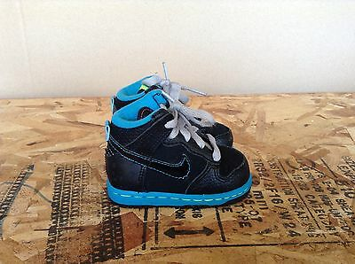 detailed look d49df c9d84 Nike Dunk High Shoes Toddler Size 3c