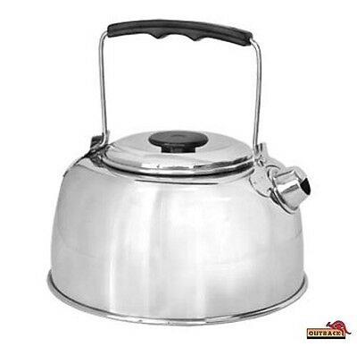 Outback Stainless Steel Camp Kettle