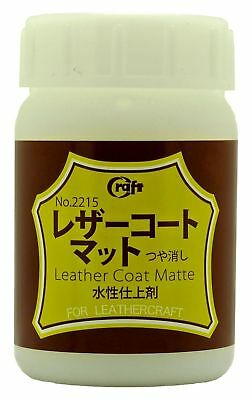 Craft Sha Leathercraft Water Resistant Acrylic Resin Leather Lacquer Matt 100ml