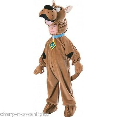 Official Licensed Boys Deluxe Scooby Doo Book Day Fancy Dress Costume Outfit