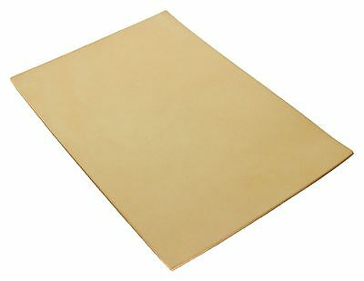 Full Grain Vegetable Tanned A4 Tooling Leather Leathercraft Natural 7.5oz 3mm