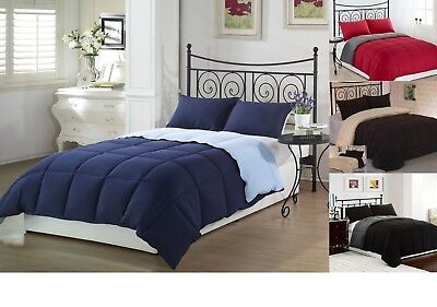 Down Alternative Comforter and SHAMS King Queen Full Size Comforters Available