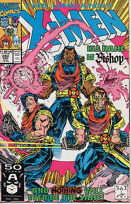 The Uncanny X-Men #282 Comic Book - 1st Appearance of Bishop
