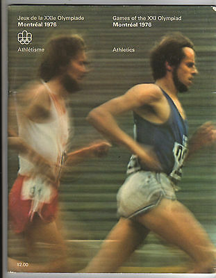 Orig.Complete PRG    Olympic Games MONTREAL 1976  -  ATHLETICS  !!   RARE