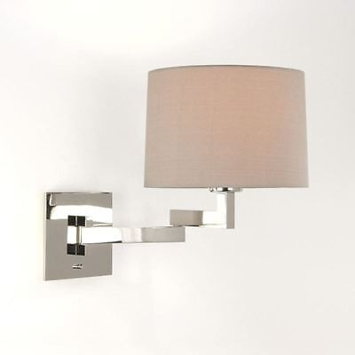 Indoor Lighting Swing Arm Wall Lamp Bedside Reading E27 Chrome ASTRO 0750 MOMO