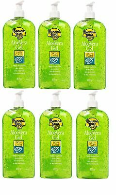 6 x Banana Boat Aloe Vera Gel After Sun Large 453g JOB LOT