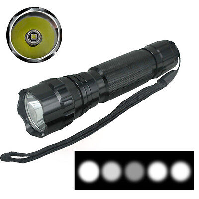Ultrafire 1200 Lumen CREE XM-L T6 LED Flashlight Zoomable Torch Light 5 Mode