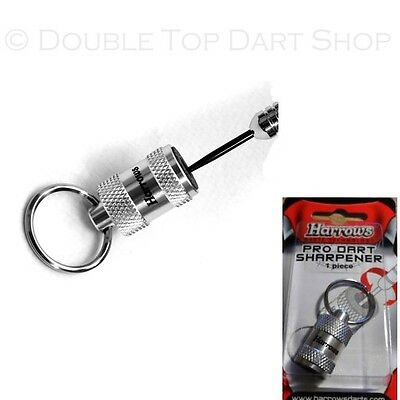 Harrows Pro Keyring Dart Sharpener - Stone Dart Points Sharpener