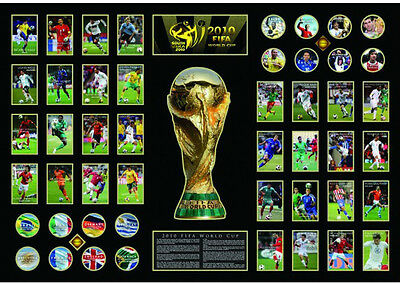 New FIFA World Cup Limited Edition Oversized Memorabilia Framed