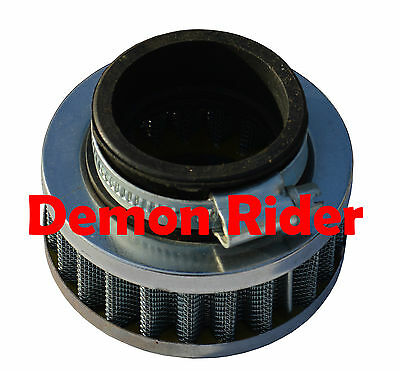 K&n Style 44Mm Round / Pancake Air Filter For Mini Moto Bike Recommended For Nos