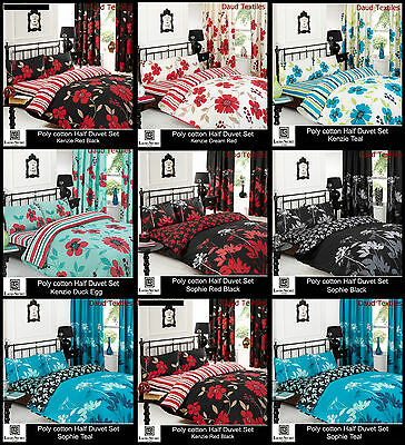 New Luxury Duvet Cover With Pillow Case Quilt Cover Bedding Set All Sizes