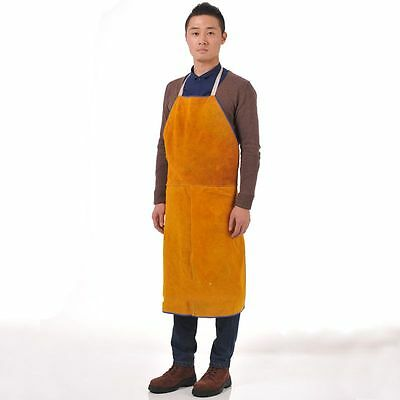 "1pc New 24"" W x 36"" L Leather Bib Welding Apron free shipping"