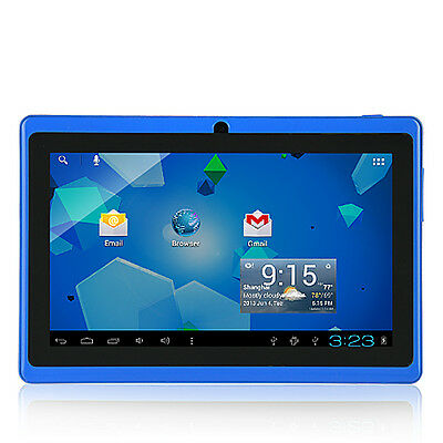 """7"""" Dual Core Google Android Tablet PC 4GB A23 1.2GHz Dual Camera WiFi Touch FO"""