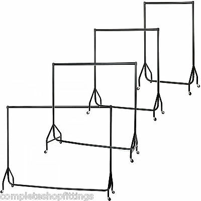New Garment Clothes Rail Dress Display Stand Rack Heavy Duty 2ft 3ft 4ft 5ft,6ft
