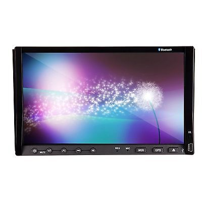 """Universal 7"""" 2Din LCD Touch GPS Stereo Car DVD Player Radio RDS Bluetooth iPod"""