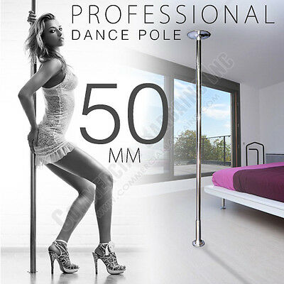 X-Dance 50mm Dance Pole Kit Competition Commercial Portable Fitness Exercise