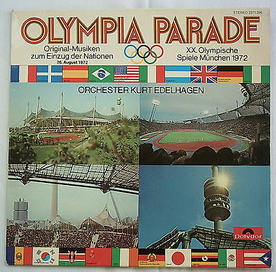 Orig.Record   Olympic Games MÜNCHEN 1972 - music for the parade of nations A  !!