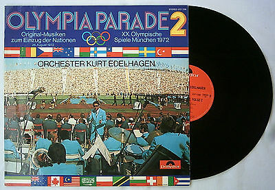 Orig.Record   Olympic Games MÜNCHEN 1972 - music for the parade of nations B  !!