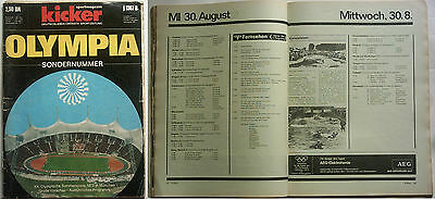 Orig.Complete PRG / Guide   Olympic Games MÜNCHEN 1972 // Special Edt.  !!  RARE