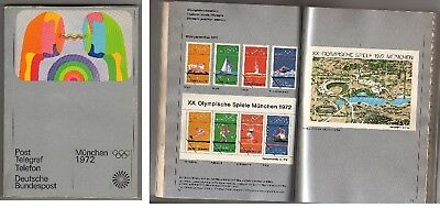 Orig.PRG / Telefon Directory   Olympic Games MÜNCHEN 1972  !!  VERY RARE