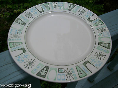 Taylor Smith Cathay Dinner Plate Vintage retro Mid-Century Atomic