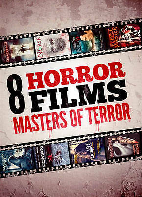 Masters of Terror Collection (DVD, 2012, 2-Disc Set, Brand New)