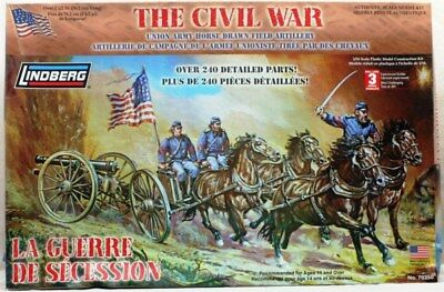Lindberg 1:16 The Civil War La Guerre DE Secession Figure Kit #70350