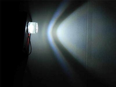 WHITE Battery Operated LED Flood light for Halloween props and Haunted Houses