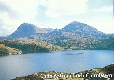 Scotland Postcard - Quinag from Loch Cairnbawn   AB651