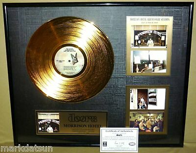"""THE DOORS Morrison Hotel 12"""" GOLD RECORD #501/2500 NEW LAST ONE AVAILABLE"""