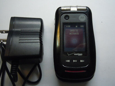 FAIR lower condition 6/10 RUGGED! MOTOROLA BARRAGE V860 bundle w/charger