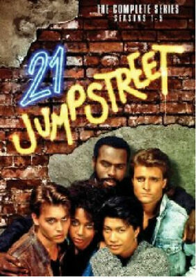 21 Jump Street: The Complete Series (DVD, 2010, 18-Disc Set) Johnny Depp   NEW