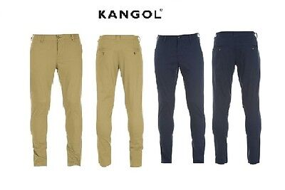 Kangol Kids Boys Juniors Chinos Pants Khaki Navy Cotton SB MB LB XLB Age 7-13