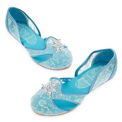 Disney Store Frozen Elsa Costume Dress Up Shoes Sz 7/8 9/10 11/12 13/1 2/3 NEW