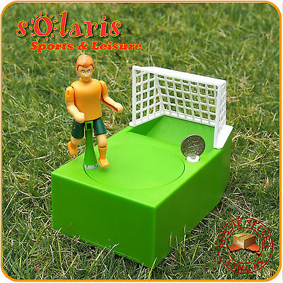 Soccer Player Goal Kicking Coin Bank Money Box Funny Gift for Football Fans