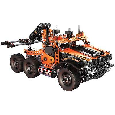 Erector Evolution Tow Truck Meccano Metal Construction Building Toy New
