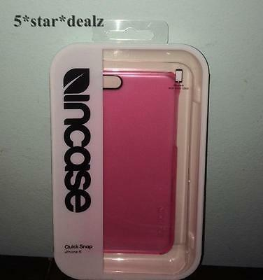 """Incase Quick Snap Case For iPhone 6 4.7"""" (Pink) NEW"""