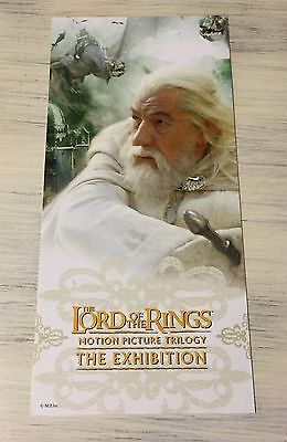 Lord Of The Rings - The Exhibition - Post Card - New Zealand - Trilogy - Promo