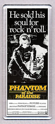 PHANTOM OF THE PARADISE movie poster WIDE FRIDGE MAGNET  -  COOL!